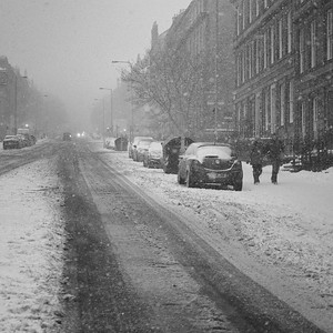 When The Snows Came, Dundas Street, Edinburgh
