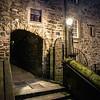 Milne's Court...a dark tunnel...