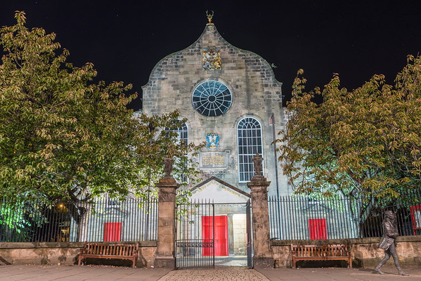 Canongate Kirk at Night