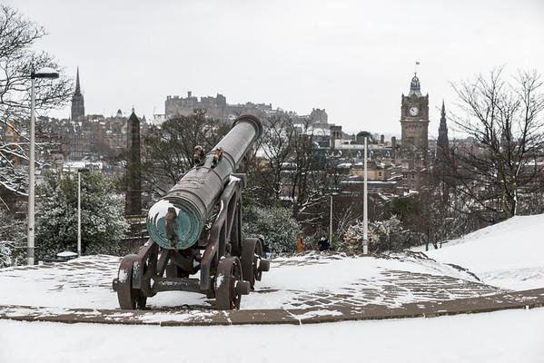 Wintery Portuguese Cannon