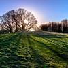 Shadows on Craigmillar Hill