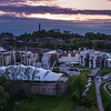 Parliament and Dynamic Earth at Dusk