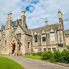 Sunlit Lauriston Castle