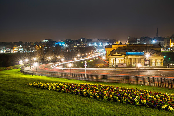 Light Trails at the Gallery