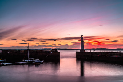 Spectacular Newhaven Sunset