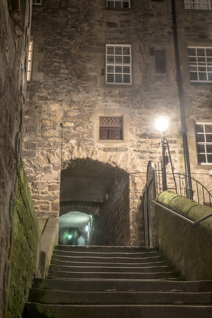 Milne's Court, off the Royal Mile