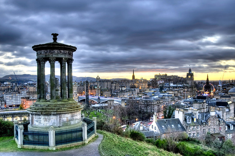 Edinburgh at Dawn