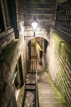 Barrie's Close, off the Royal Mile