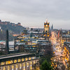 Balmoral and Princes Street at Christmas