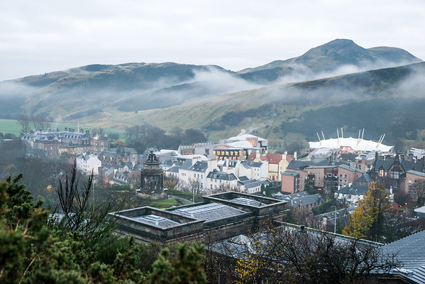 Low Lying Cloud over Holyrood 1