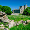 Craigmillar Castle in the Summer