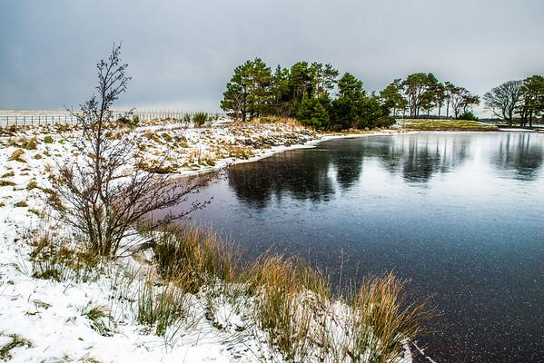 Winter in the Pentlands