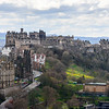Edinburgh Castle from the Nelson Monument
