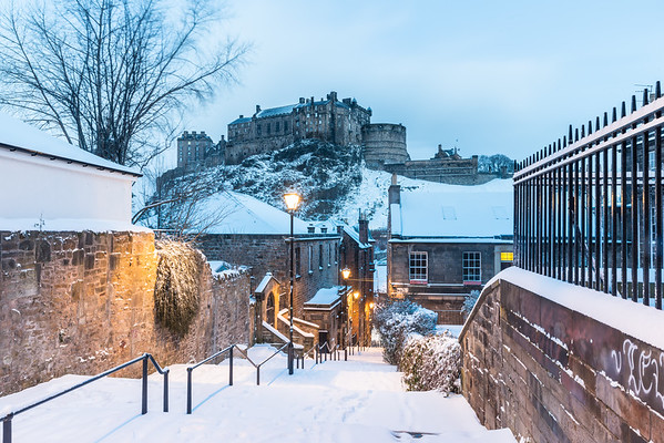 Morning Snow on the Vennel