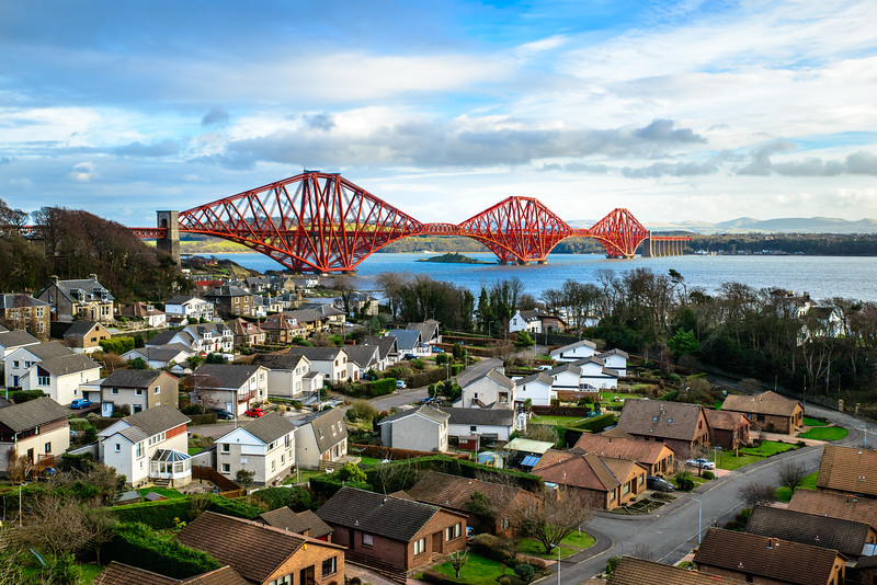 North Queensferry and the Famous Bridge!