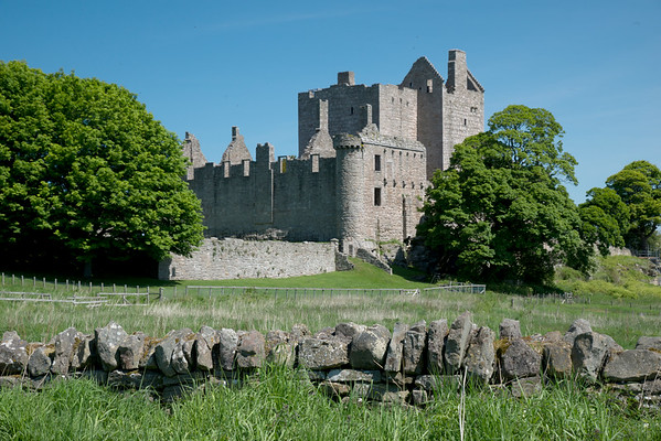 Craigmillar Castle close-up