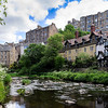 Dean Village in the Summer