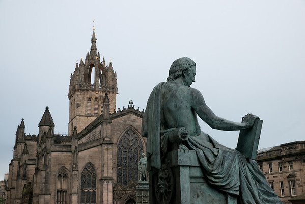 David Hume on the Royal Mile