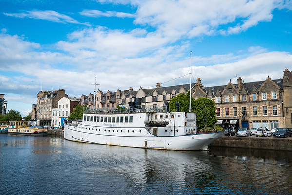 Restaurant on the Water, Leith 3