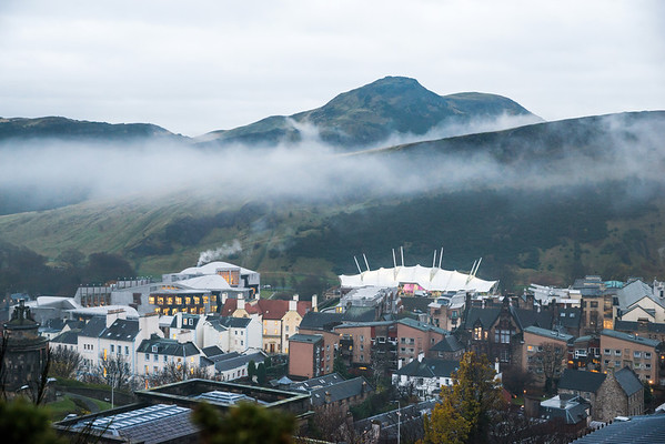 Low Lying Cloud over Holyrood 2