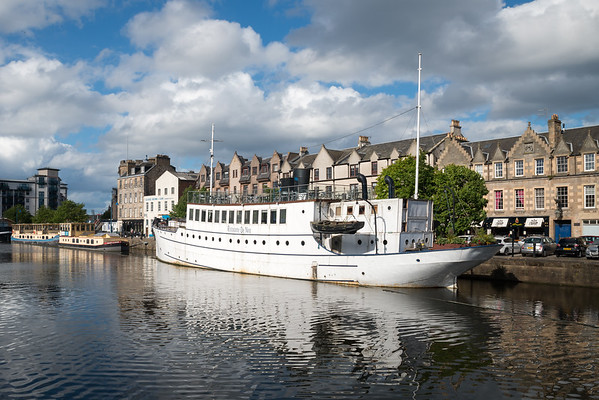 Restaurant on the Water, Leith 1