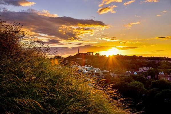 A Golden Calton Sunset