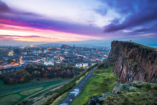 Dramatic Skies from the Crags