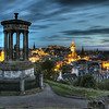 View from The Dugald Stewart Monument, Edinburgh