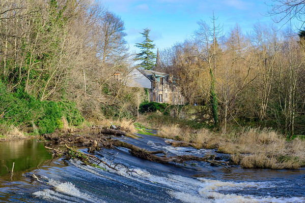 Weir on The Water of Leith