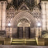The doors of St Giles' Cathedral