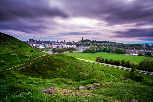 Long Exposure from Holyrood Park