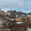 Snowy View of Edinburgh Castle 2