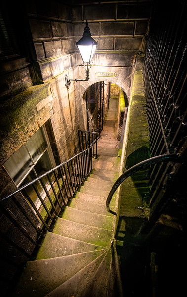 Barrie's Close, Royal Mile
