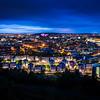 A Blue City View