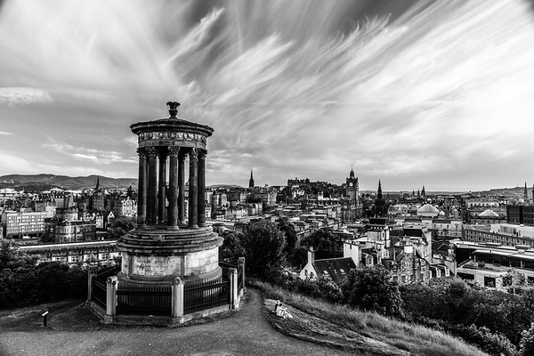 The Dugald Stewart Monument