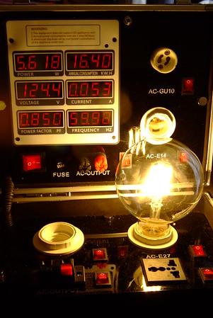 Edison Light Tests