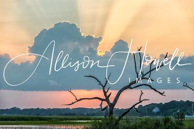 Sunset in the marsh II2018