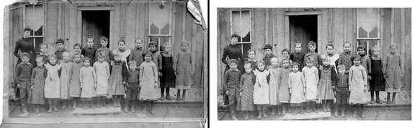 Advanced service: Restore old photographs