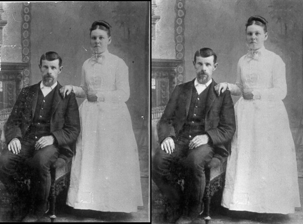 Basic Service: Restore old photos
