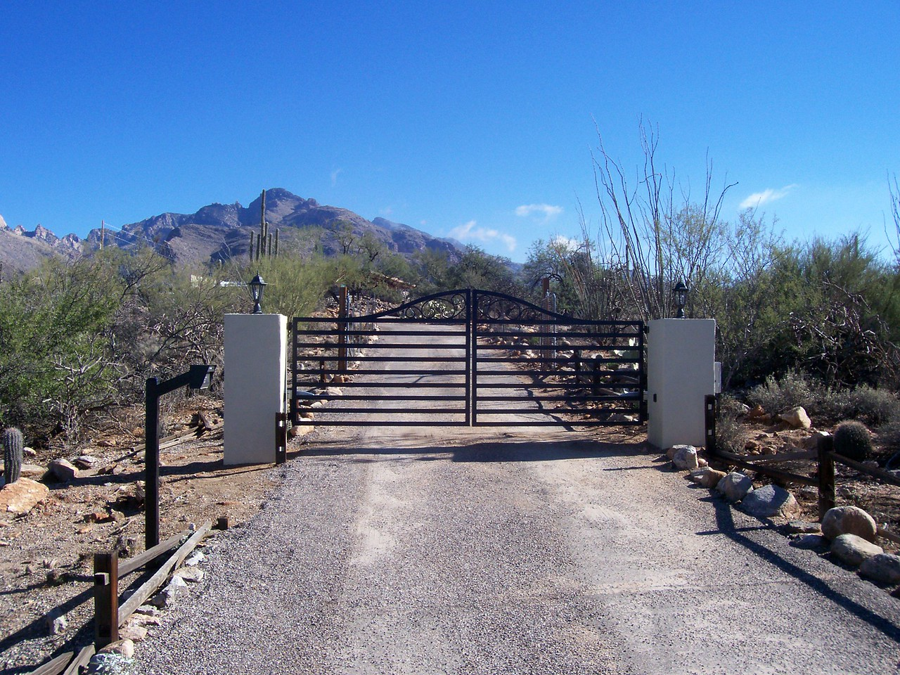 Dual Swing gate with phone system & operator