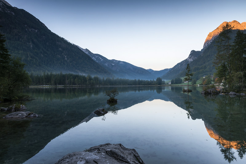 Morgen am Hintersee