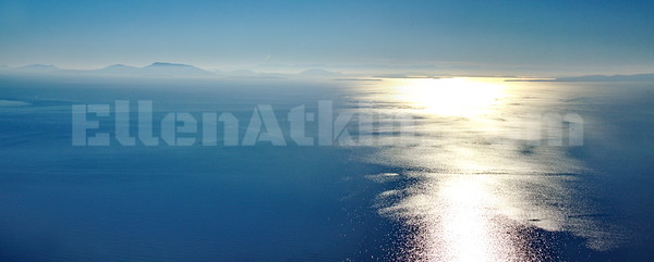 Semiahmoo (Aerial Panorama) 24x60 inches, laminated metallic  photo paper float mounted on aluminum. $2520.00, 1/10
