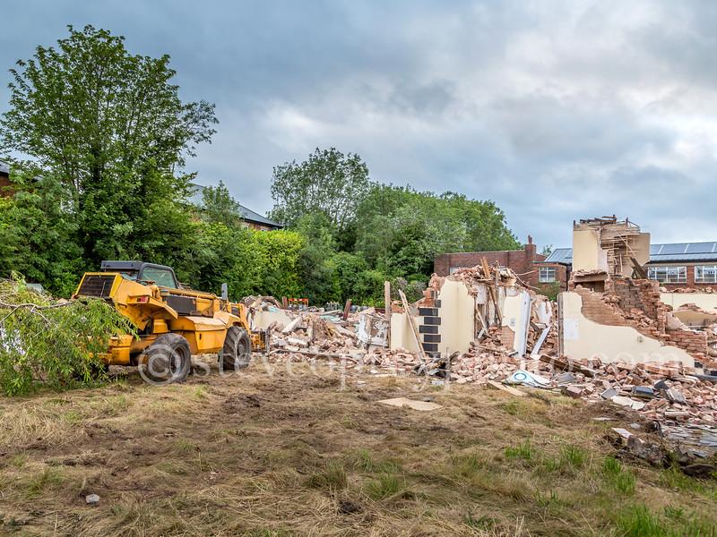 Redditch Labour Club Demolition