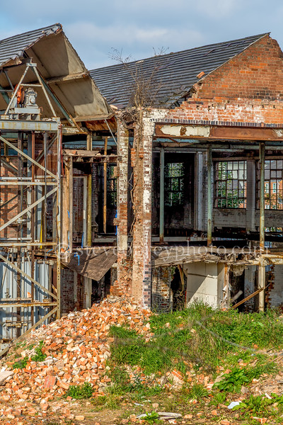 Abel Morrall Needle Factory Demolition