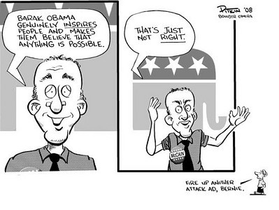 August 30, 2008<br /> Hap Pitkin Editorial Cartoon<br /> DailyCamera.com Boulder, CO
