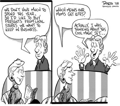 December 13, 2008<br /> Hap Pitkin Editorial Cartoon<br /> DailyCamera.com Boulder, CO