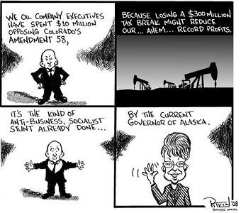 September 20, 2008 Hap Pitkin Editorial Cartoon DailyCamera.com Boulder, CO