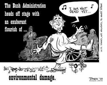 November 22, 2008<br /> Hap Pitkin Editorial Cartoon<br /> DailyCamera.com Boulder, CO