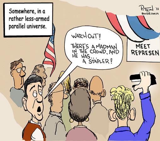 Jan. 20, 2011<br /> Hap Pitkin Editorial Cartoon<br /> Dailycamera.com Boulder, CO