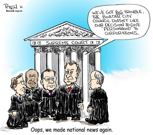 June 28, 2011<br /> Hap Pitkin Editorial Cartoon<br /> Dailycamera.com Boulder, CO